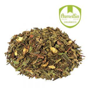 Verde Menta Regaliz Bio - Tés Camellia