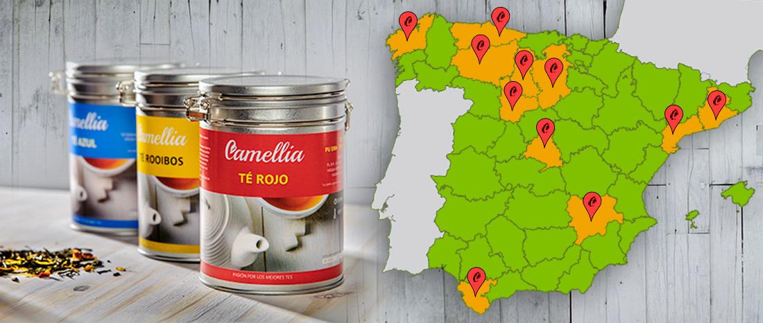 Distribuidores de Tés Camellia