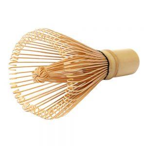 Escobilla de bambú con 80 cerdas original japonesa - Matcha