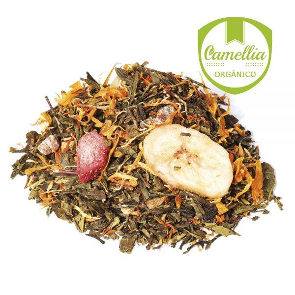 Té Verde con Frutas Sueño de Verano - Tés Camellia