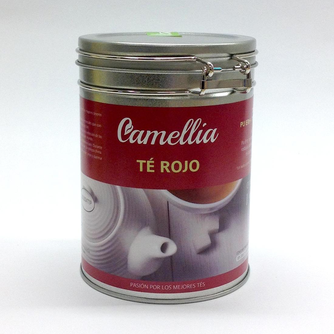Té Rojo Pu Erh   Tés Camellia